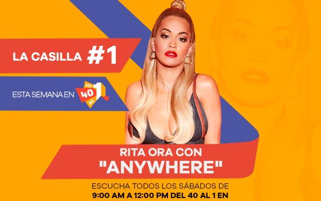 Esta semana la casilla #1 en #Del40Al1 es para Rita Ora
