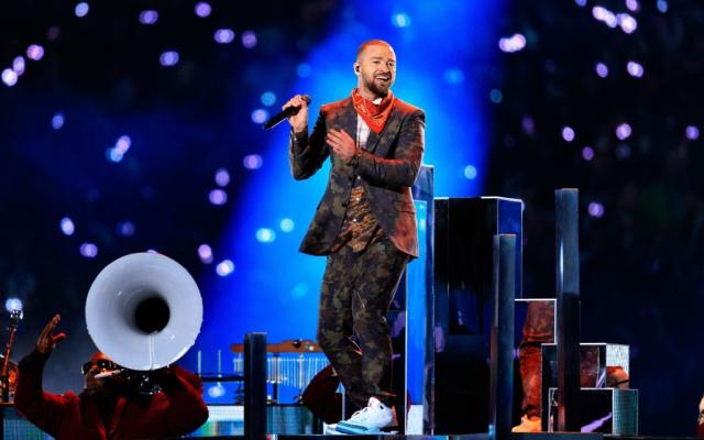 Justin Timberlake y su presentación en el Super Bowl