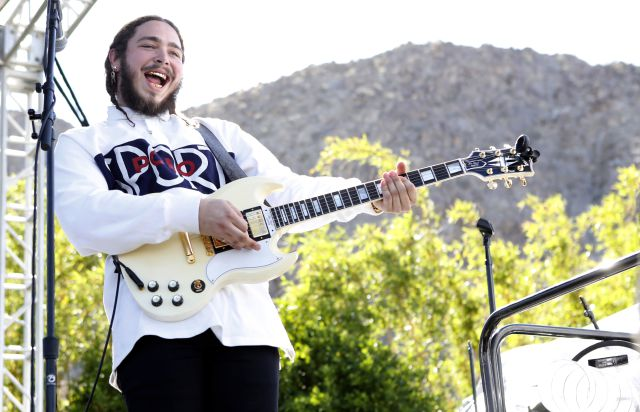 Post Malone llega con sus éxitos a Coachella 2018