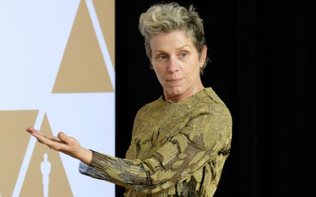Frances McDormand sufre el robo de su Óscar y lo recupera pocas horas después