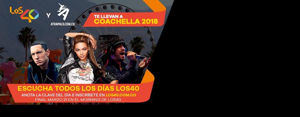 Viaja a Coachella 2018 y vive el festival con LOS40