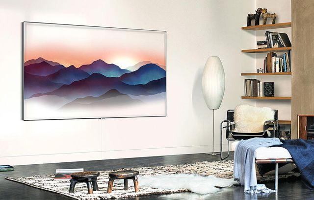 El nuevo televisor de Samsung se 'camufla' en la pared