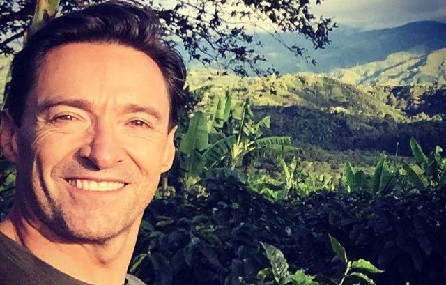Hugh Jackman quedó enamorado de Colombia y así lo demostró en redes