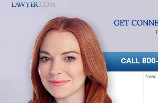 Lindsay Lohan se ríe de sus antiguos problemas con la justicia en un anuncio