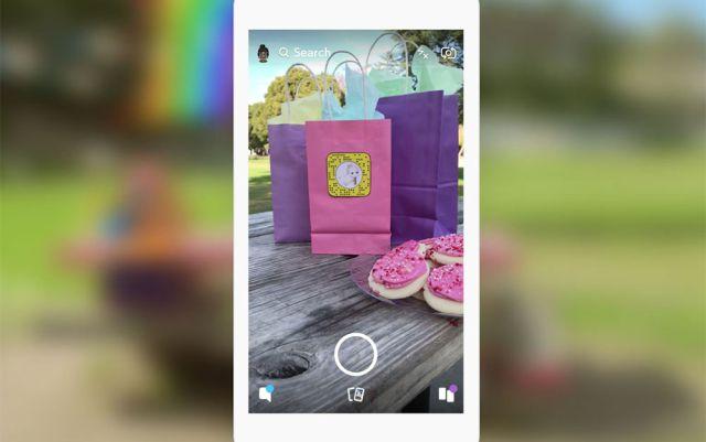 Snapchat introduce las etiquetas en sus publicaciones
