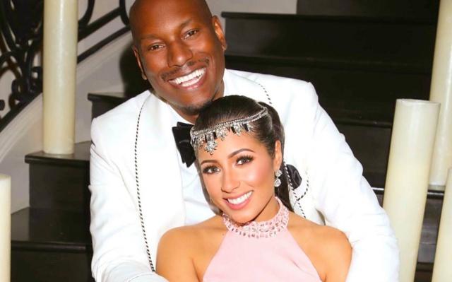 Tyrese Gibson espera una hija con su esposa Samantha