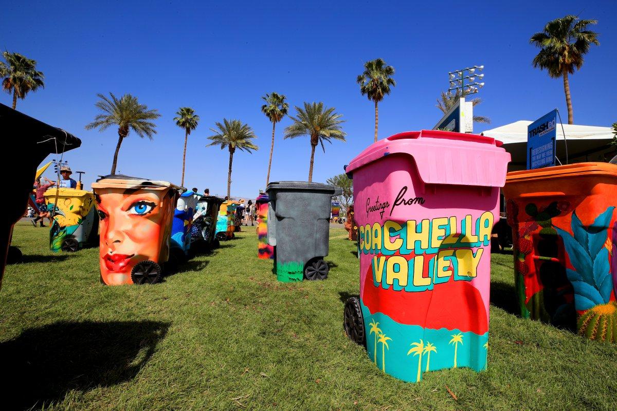 El arte está vivo en Coachella 2018 y aquí sus mejores fotos en el día 1