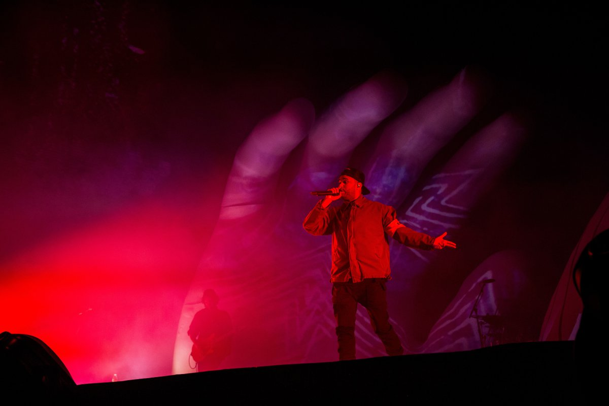 The Weeknd un referente del pop sonando fuerte en Coachella 2018