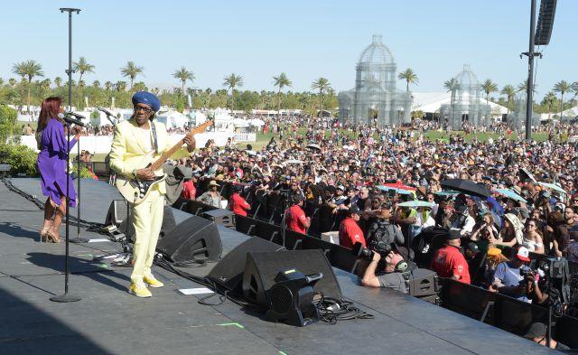 La trayectoria de Nile Rodgers en Coachella 2018