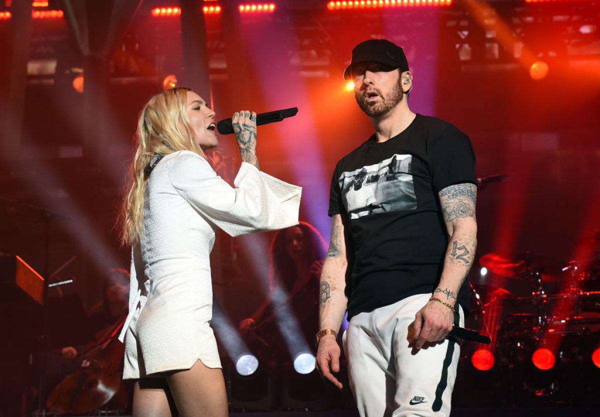 Así fue la presentación de Eminem en el tercer día de Coachella