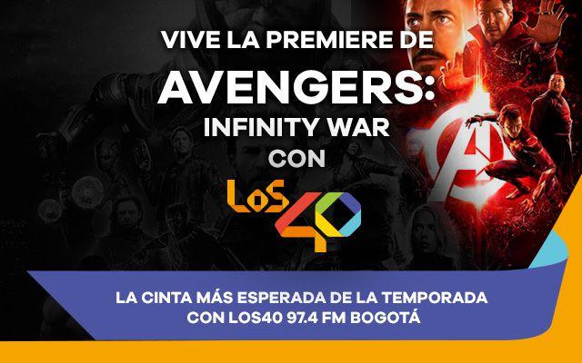 Disfruta con LOS40 de la premiere de Avengers Infinity War