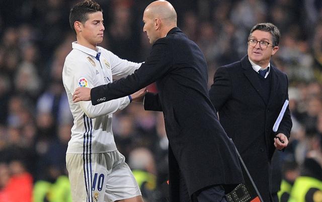 Controversiales declaraciones de Zidane sobre James Rodriguez
