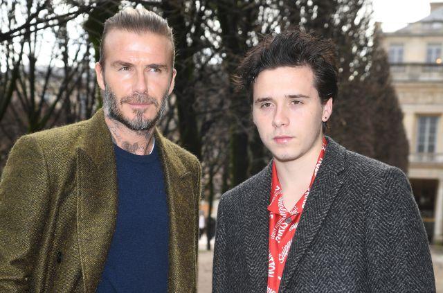 El emotivo momento en el que Brooklyn Beckham regresa a casa por el cumpleaños de su padre
