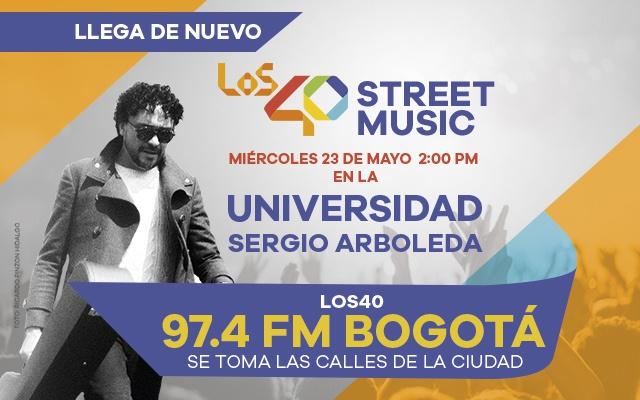 Llega LOS40 Street Music desde tu universidad