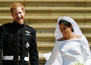 Katy Perry prefiere el vestido de novia de Kate Middleton al de Meghan Markle