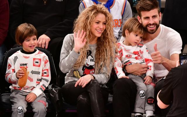 Milan y Sasha: protagonistas indiscutibles en los ensayos de la gira de Shakira