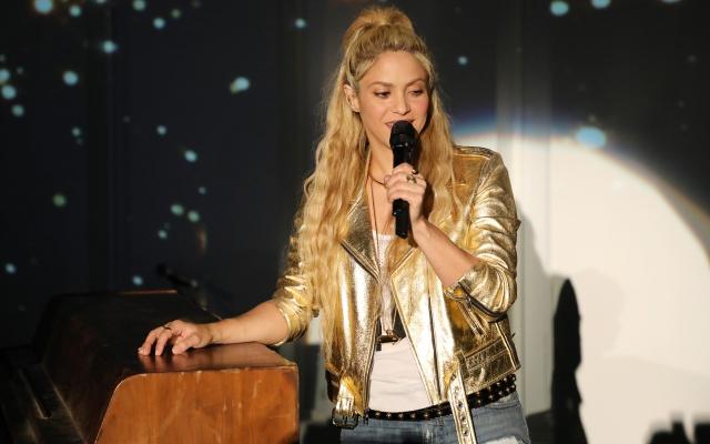 Shakira y su familia: juntos en tarima