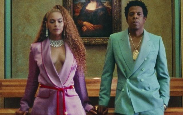¡Desnudos! así promocionan su álbum Beyonce y Jay Z