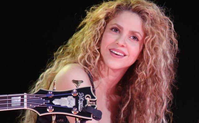 Así celebró Shakira el triunfo de Colombia