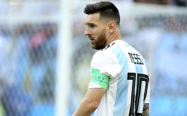 Pareja rusa se separa... ¡Por culpa de Messi!