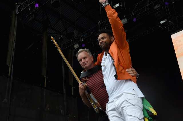 Shaggy y Sting estarán en Concierto en el Movistar Arena de Bogotá.