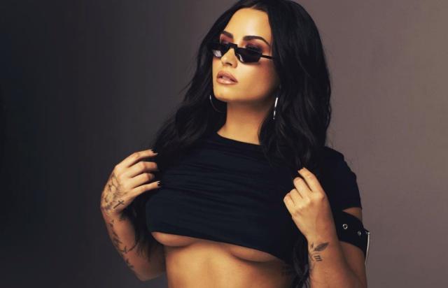 Demi Lovato enciende las redes con esta foto