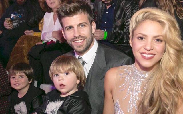 Las apasionadas muestras de cariño entre Shakira y Piqué