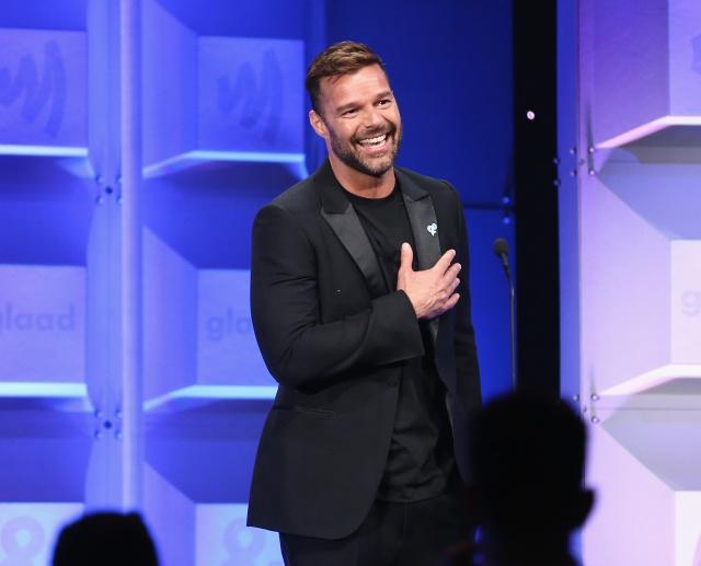 Ricky Martin celebró su nominación al Emmy de esta manera.