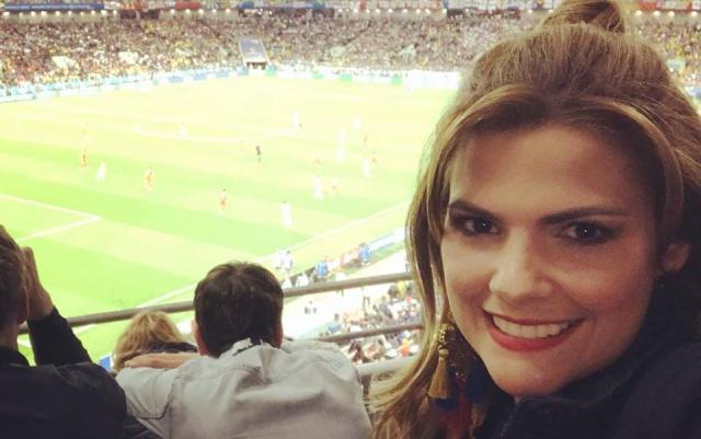 Por esta foto, presentadora colombiana es la envidia de todos