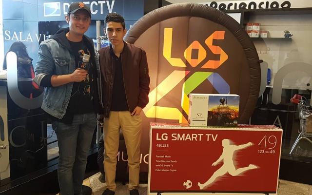 Juan Sebastian fue el ganador de FIFA 2018 con LOS40