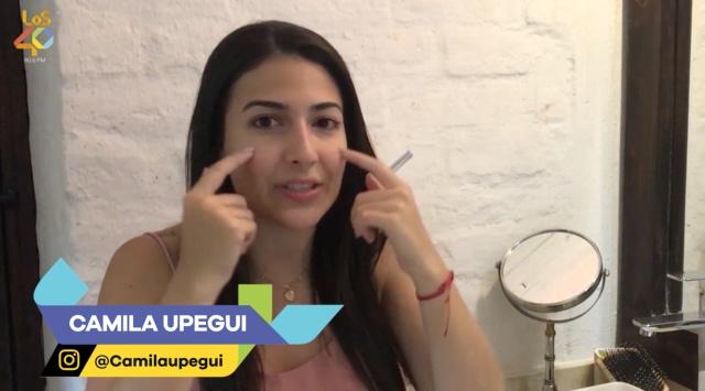 Camila Upegui nos cuenta cómo deshacernos de las ojeras