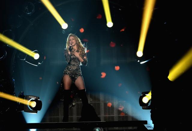 Shakira ya llegó a Barranquilla.