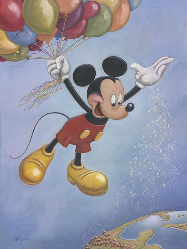 Se da a conocer el retrato oficial del cumpleaños de Mickey Mouse.