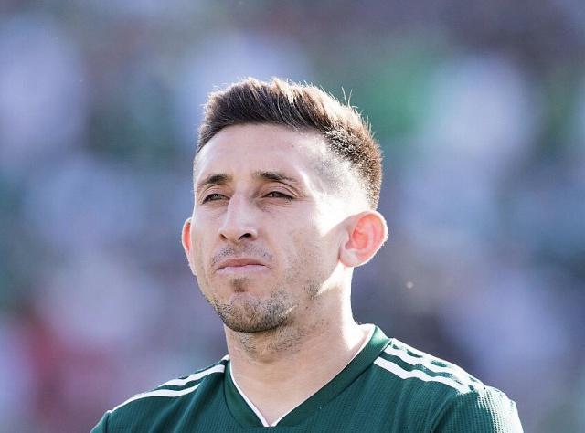 Vea cómo quedó el futbolista Héctor Herrera después de su paso por el quirófano.