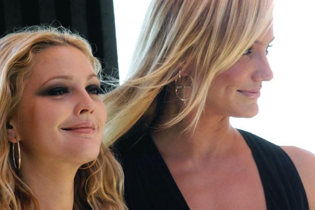 Drew Barrymore y Cameron Díaz juntas al natural.