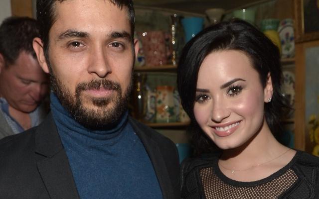 Demi Lovato fue visitada por su exnovio