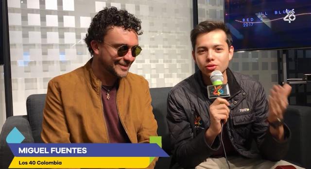 Entrevista exclusiva de LOS40 con Andrés Cepeda