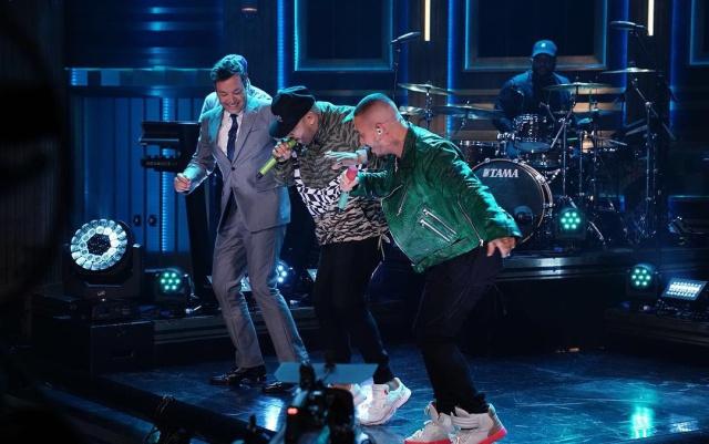 J Balvin y Nicky Jam hacen historia en el show de Jimmy Fallon