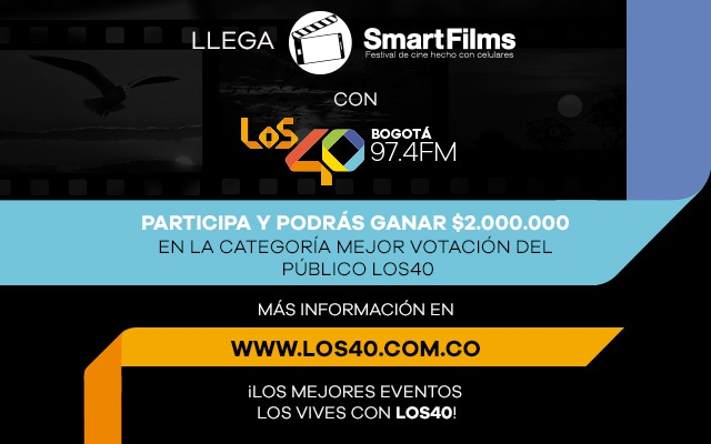Vive Smart Films con LOS40