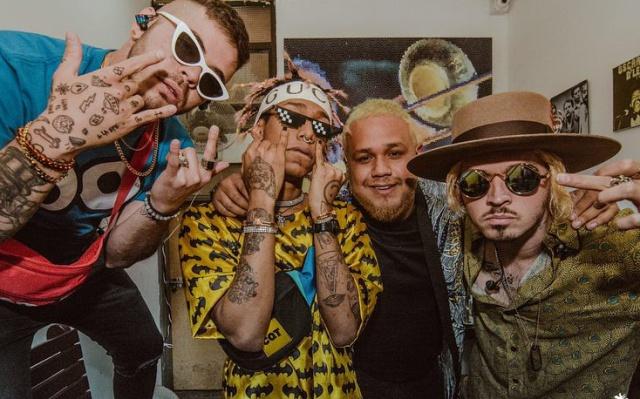 ¡Lalo Ebratt, Yera y Skinny Happy de gira por Colombia!