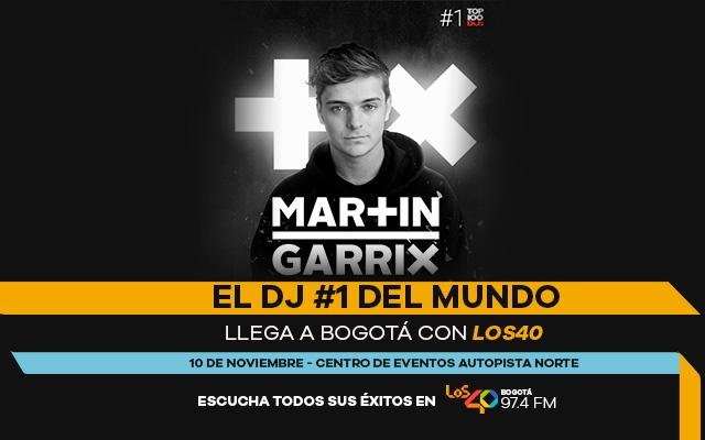 LOS40 Colombia presenta al Dj #1 del mundo: Martin Garrix