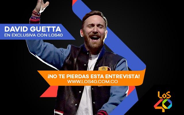 David Guetta en exclusiva con LOS40