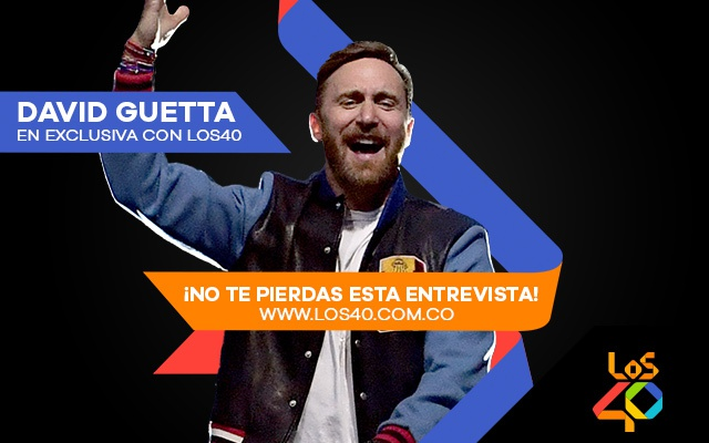 David Guetta en exclusiva con LOS40