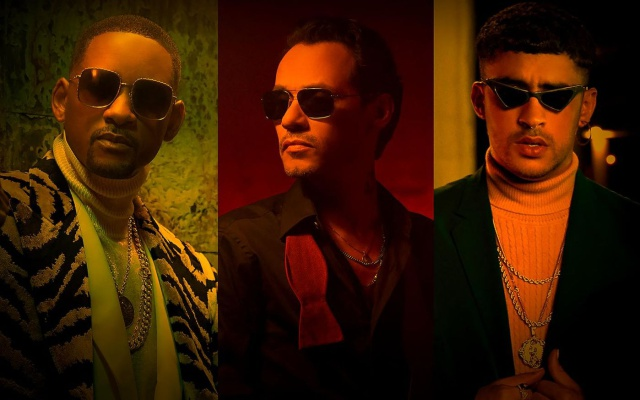 Marc Anthony, Will Smith y Bad Bunny estrenan 'Está Rico'