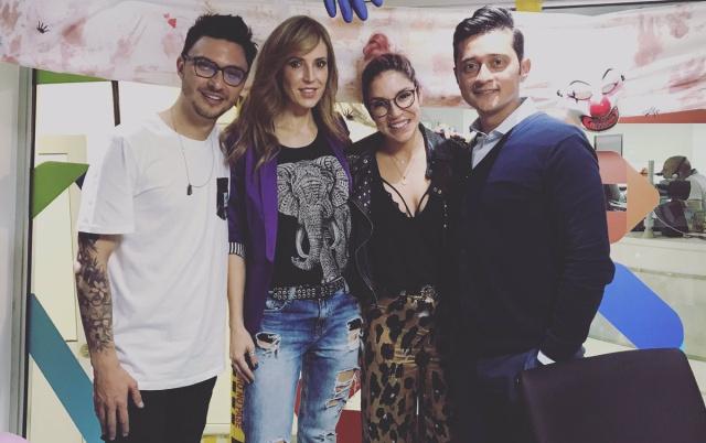 Alejandra Azcárate e Ivan López estuvieron en El Levante de LOS40