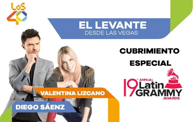 Vive los Grammy Latinos 2018 con LOS40