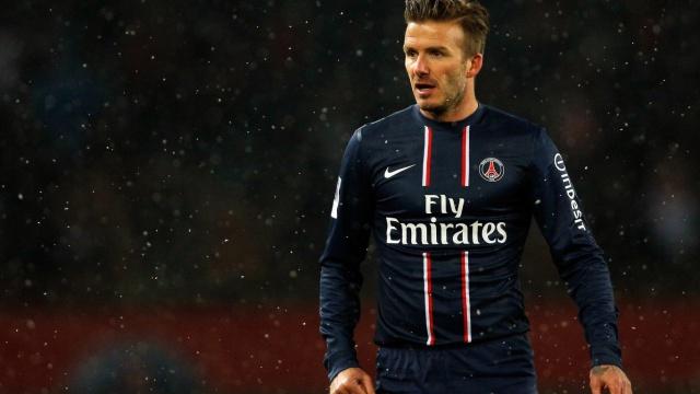 David Beckham podría ser el primer futbolista en viajar al espacio