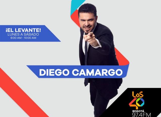 ¡Diego Camargo llega a El Levante de LOS40!