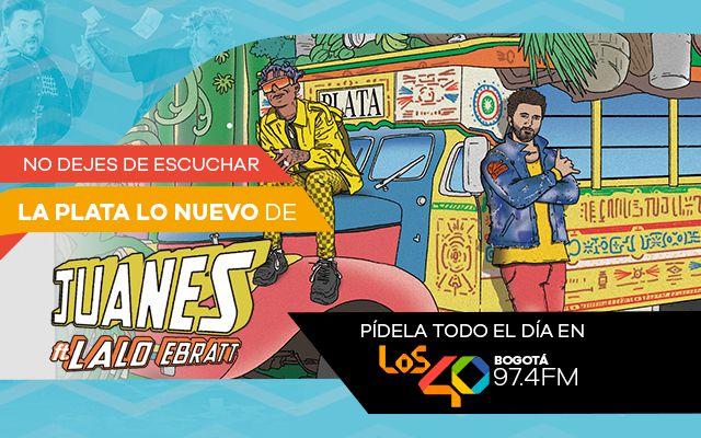 Juanes presenta 'La Plata' junto a Lalo Ebratt