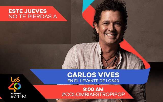 No te pierdas a Carlos Vives en El Levante de LOS40